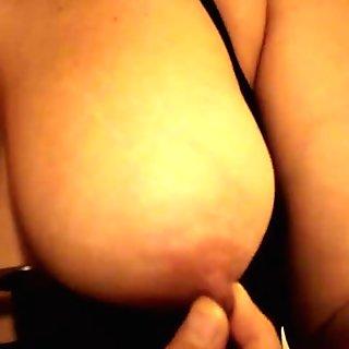 Batinas big tits up close nipples and clit