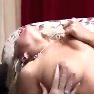MILF In Latex Boots Gives Herself A Big Orgasm