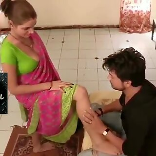 hottest Desi Aunty enormous fun bags Fucked BY Young Man