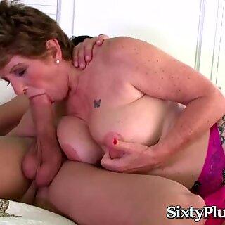 Old Slut Vs Horny Stud