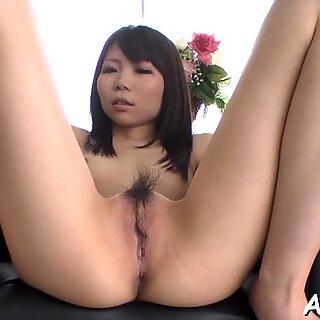 Lusty Asian anal pleasuring
