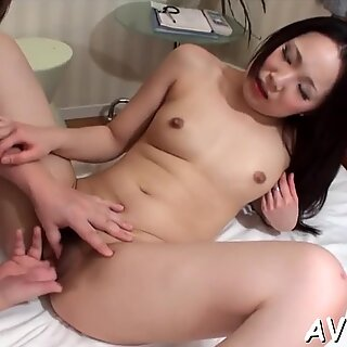 Tantalizing sex with hot Asian babe