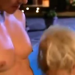 Naughty milf Brittany Andrews gets her wet clit licked and swallows a big meat