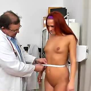 Red head Terry Sullivan gyno rectal douche
