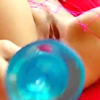 Anita Plays With Toys