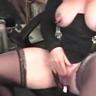 Big and Giant White Pierced Exercised mother I'd like to fuck Clitoris Hood
