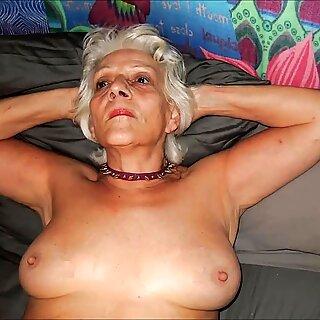 النساء الساحرة مع الشعر الرمادي 2