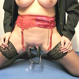 Mature Mom Big Tits And Clit Torture