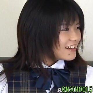 Tsumiki Shindo gets anal dildo