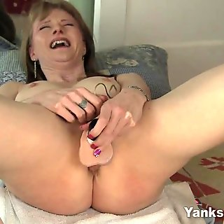 Pierced Natalia Masturbating For Orgasm