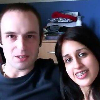 هندية بنت zarina mashood تجعل فيديو جنسي ساخن مع صديقها