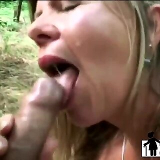 Sexy mature slut masturbates then sucks and rides horny lvoer'_s stiff dick