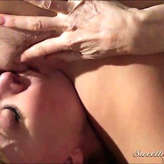 Natalia comforts MILF Ninas pussy