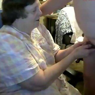 grandma suck grandpa's cock