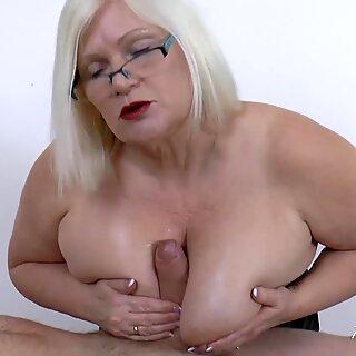 AgedLovE British Mature Hardcore Sex with Soldier