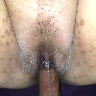 PULSATING ORGASM ON DILDO THEN SHE SQUIRTS ALL OVER MY DICK